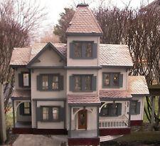 Vintage Little Orphan Annie's Miniature Victorian Doll House - Rare