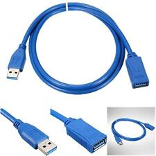 0,9 m USB 3.0 Tipo A maschio femmina Prolunga Extenditore Cavo Adattatore Blu Y[
