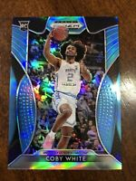 Coby White 2019-20 Panini Prizm Draft Picks Rookie Carolina Blue /30 RC RARE 🔥