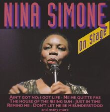 Nina Simone on stage (just in time, remind me) ON STAGE CD Album