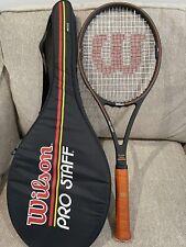 Wilson Pro Staff Midsize 4 1/2 St. Vincent Bumperless IYQ 6.0 85 Tennis Racquet