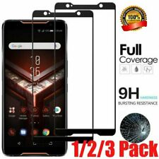 Tempered Glass Screen Protector Film Full Cover For ASUS ROG Phone 2 II QV