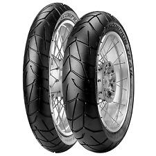 Coppia gomme pneumatici Pirelli Scorpion Trail 120/70 ZR 17 58W 160/60 ZR 17 69W
