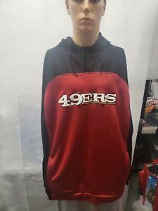 San Francisco 49ers Reebok Hoodie XXL 2XL NFL