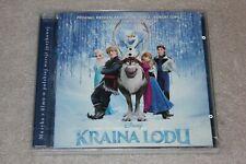 Kraina Lodu OST  CD Frozen NEW SEALED
