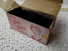vintage 1 pound bulk VICKY VICTORY HAIR PINS, Smith Victory Corp,WWII Home Front