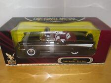 1957 Chevrolet Bel Air 1:18 Die Cast Black By Road Signature