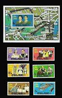 QEII Silver Jubilee  MALDIVES 1977 Stamp Set + Souvenir Sheet MNH