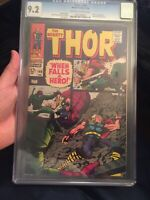 🔥Thor #149 CGC 9.2 OW/W Wrecker Appearance + Inhumans Backup Story NICE COPY!🔥