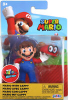 World of Nintendo ~ MARIO w/CAPPY (Series 22) ~ Super Mario Bros. ~ JAKKS