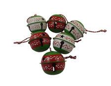 Heaven Sends Set di 6 Jingle Bell ALBERO DI NATALE PALLINE-Jingle Bell baubles