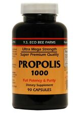 Propolis 1000mg YS Eco Bee Farms 90 Caps, Organic, Premium, Mega Strength