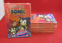 NEW! LOT of 5 DVD'S: ADVENTURES OF SONIC THE HEDGEHOG - (4-Disc) DVD SET