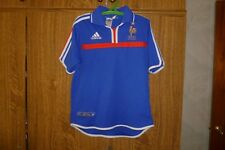 France Vintage Football Adidas Home 2000/2002 Shirt Euro 2000 Champions Size YL