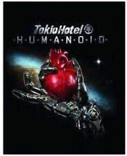 Tokio Hotel - Humanoid Deluxe Edition FanBox English Version CD + DVD + Flag