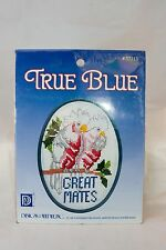 True Blue Great Mates Cross Stitch Kit New Unopened Packet