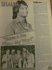 Shaun Cassidy, Full Page Vintage Clipping