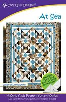 At Sea Quilt Pattern  - Cozy Quilt Designs Quilt Pattern