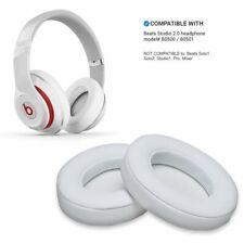 1 Paar Ohrpolster für Beats Studio 2.0 3.0 B0500 B0501 Wireless Headset Weiß