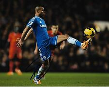 Chelsea FC Ashley Cole Autographed Signed 8x10 Photo COA L