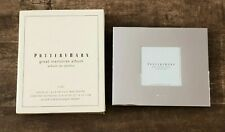 Pottery Barn Great Memories wedding  I Do Photo Album Silver Plated 30 pg New