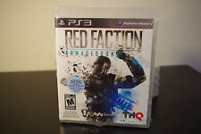 Red Faction: Armageddon (Sony Playstation 3, 2011) *New / Factory Sealed
