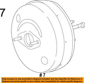 Ram CHRYSLER OEM 17-18 ProMaster 2500-Power Brake Booster 68312265AA