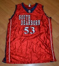 South Dearborn High School Knights Basketball Jersey 48 XL Aurora IN Nice