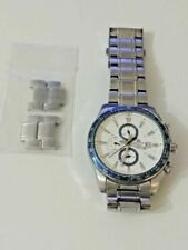CASIO EDIFICE 2328 EF- 547 CHRONOGRAPH MENS WATCH WR 10BAR USED Wristwatch