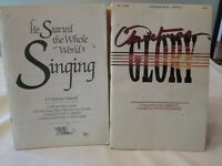 2 Christmas Song Books Sheet Music Book Religious Phil Barfoot Gaither Music Com