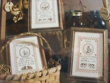 3 Herbs Elder, Chamomile, Mint Part #1 Magazine Cross Stitch Pattern (C)