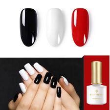 6ml BORN PRETTY UV Gel Nail Polish Soak Off Gel Varnish Red Black White Decors