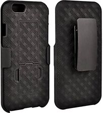 10X Apple iPhone 6+ 6S Plus Shell/Holster Combo Case w/ Kickstand in Black
