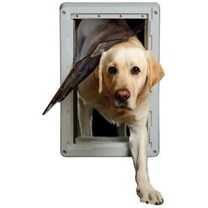 """Extra Large Ruff Weather Frame Door with Dual Flaps 9/34"""" X 17"""" XL DSRWXL"""