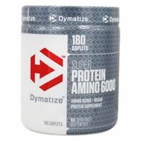 Dymatize Nutrition Super Protein Amino 6000 Amino Acids BCAAs - CHOOSE SIZE