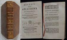 G] RECUEIL DES ORAISONS FUNÈBRES ESPRIT FLECHIER (1760) Religion Chrétienne