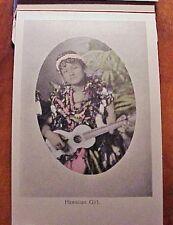 1910's Aloha Nui Hawaiian Islands Souvenir Postal Card Folder 9 Views HSSC