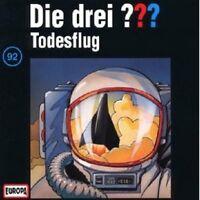 "DIE DREI ??? ""TODESFLUG (FOLGE 92)"" CD HÖRBUCH NEUWARE"