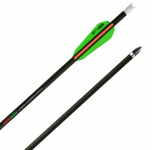 TenPoint Pro V 22 Carbon Crossbow Arrows, 6 Pack