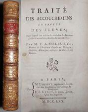 Livres anciens et de collection reliés XVIIIème sur médecine