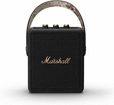 Marshall Stockwell II 60w Rechargeable Portable Wireless Bluetooth Speaker Black