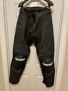 Icon Overlord Prime Leather Riding Pants