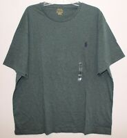 Polo Ralph Lauren Big and Tall Mens 1XB Heather Green Crewneck T-Shirt NWT 1XB