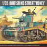 Academy Plastic Model Kit 1/35 British M3 Stuart 'HONEY' Tank 13270
