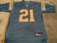 Reebok San Diego Chargers Powder Blue LaDanian Tomlinson NFL Jersey Mens Medium