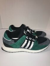 sports shoes 48829 a7855 Mens Adidas EQT Support 9316 Boost Green Black White Grey Size 13 S79923