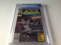 PUNISHER LIMITED SERIES 1 CGC 9.6 WHITE PGS NEWSSTAND NEWS STAND MARVEL COMICS