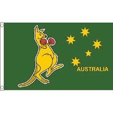 Boxing Kangaroo Large Flag 8Ft X 5Ft Australia Australian Banner With 2 Eyelets