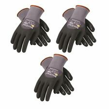 Gtek 34 845 Maxiflex Ultimate Nitrilefoam Gloves Withdotted Palm 3 Pair Pick Size
