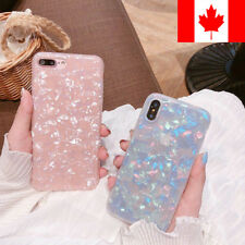 Case For iPhone 11 Pro XS Max 7 8 Plus Glossy Marble Shockproof Soft Case Cover